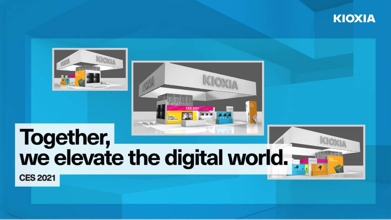 (PR) KIOXIA America Pushes the Boundaries of Flash Storage at CES 2021