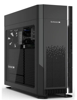 (PR) Supermicro Unveils Threadripper PRO Powered Workstation with Double-Width GPU Support