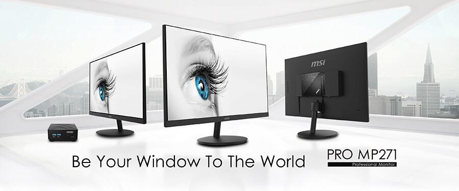 (PR) MSI Announces PRO MP271 Series Professional Monitors