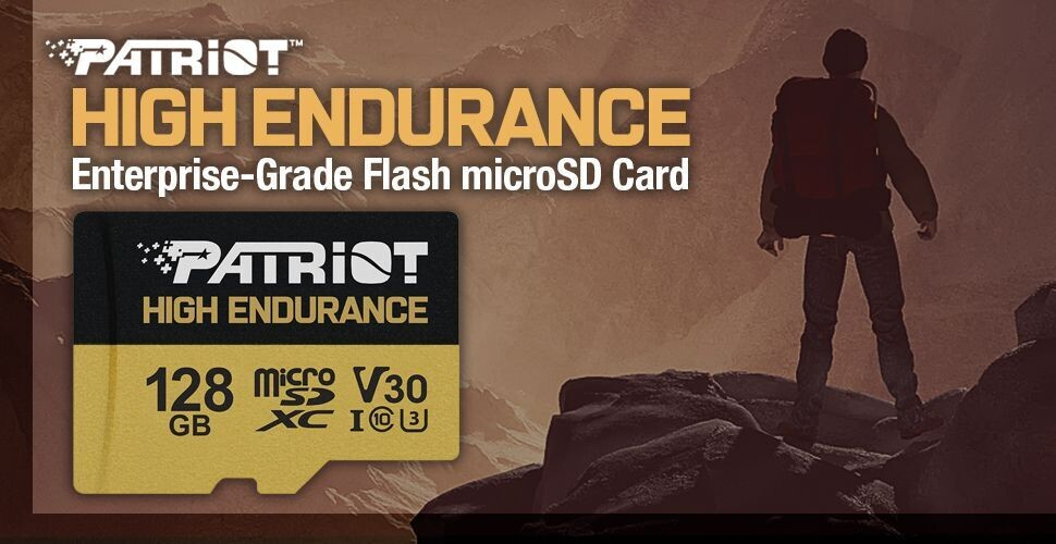 (PR) Patriot Announces EP Series of High Endurance microSDHC/XC Cards