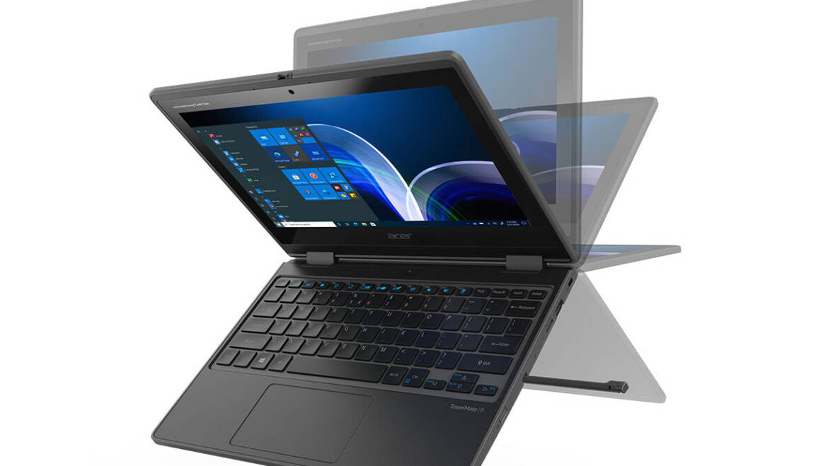 (PR) Acer Unveils Tough New TravelMate Spin B3 Laptop for Classrooms