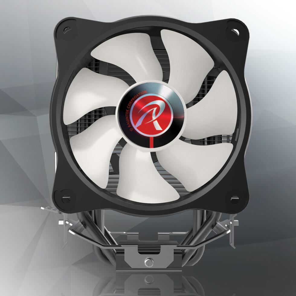 Raijintek Intros Eleos RBW Tower-Type CPU Cooler