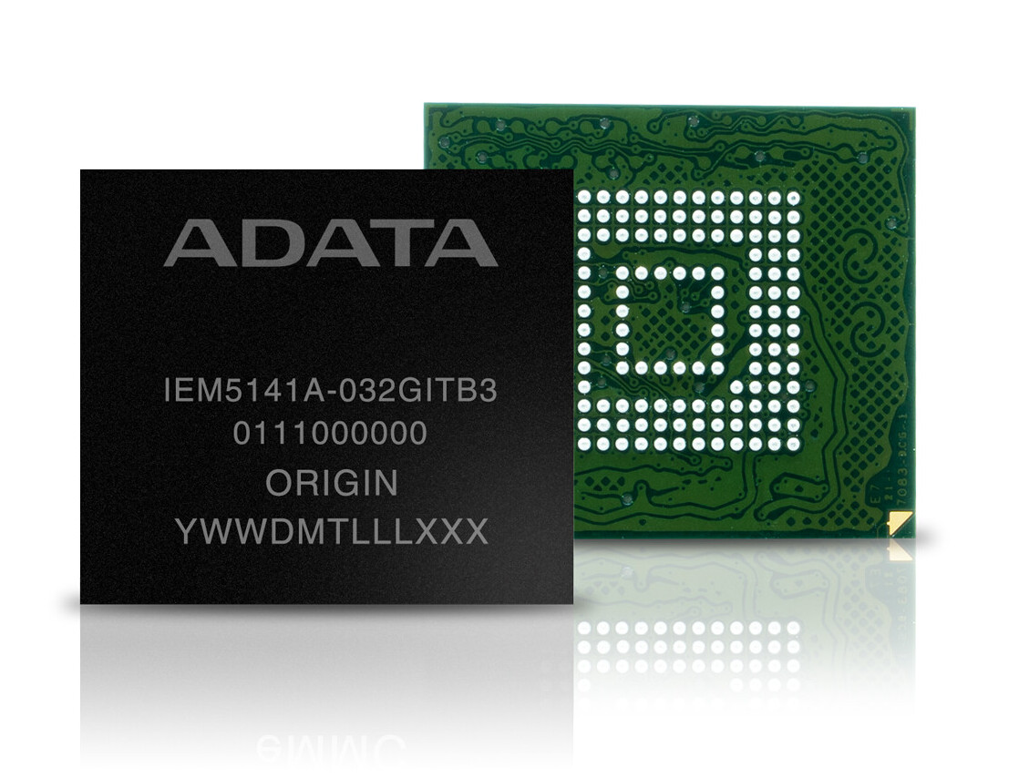 (PR) ADATA Unveils Industrial-grade IEM5141A eMMC