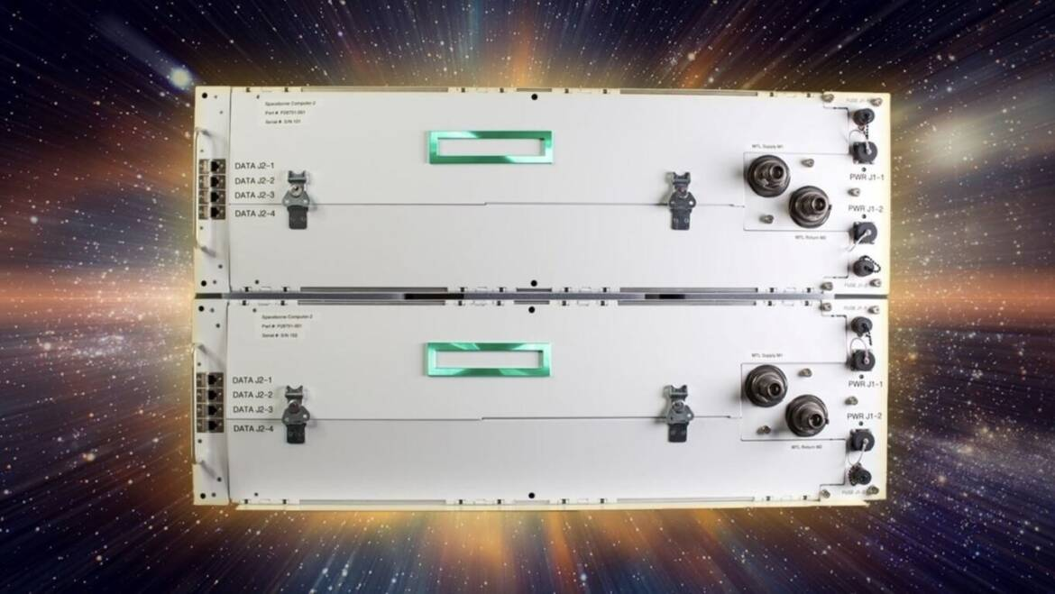 (PR) HPE Develops New Spaceborne Computer-2 Computing System for the International Space Station
