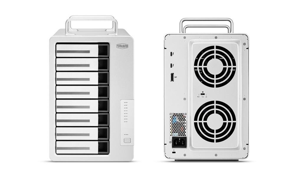 (PR) TerraMaster Introduces Upgraded D8 Thunderbolt 3 8-Bay DAS for Professional Creators