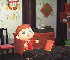 Animal Crossing New Horizons Valentine's Day, Lunar New Year Limited Time Items Detailed