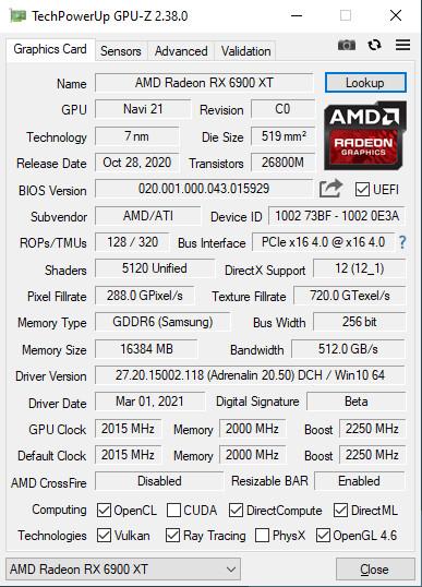 TechPowerUp GPU-Z v2.38.0 Released