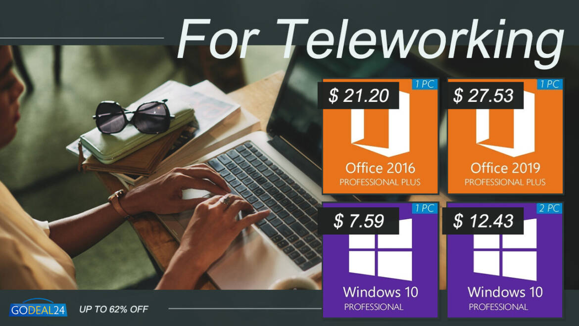 Supercharge Your Teleworking Setup with GoDeal24 Discount Genuine Software