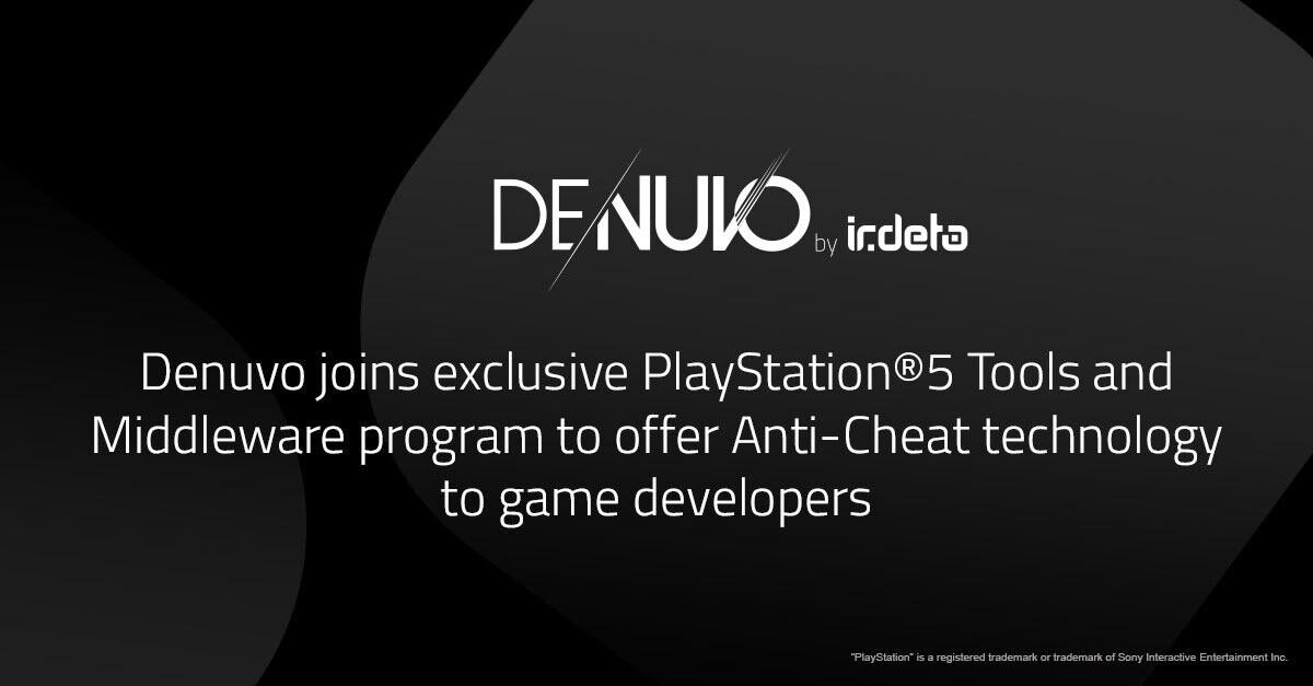 (PR) Denuvo Joins Exclusive PlayStation 5 Tools and Middleware Program to Offer Anti-Cheat Technology to Game Developers