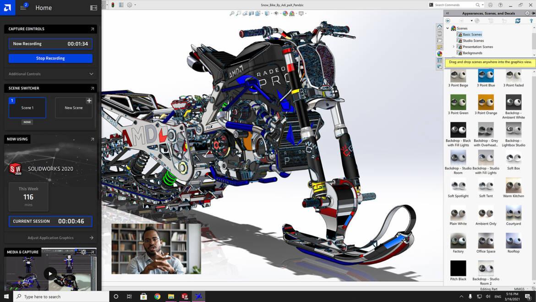 AMD Radeon Pro Software for Enterprise 21.Q1 Released