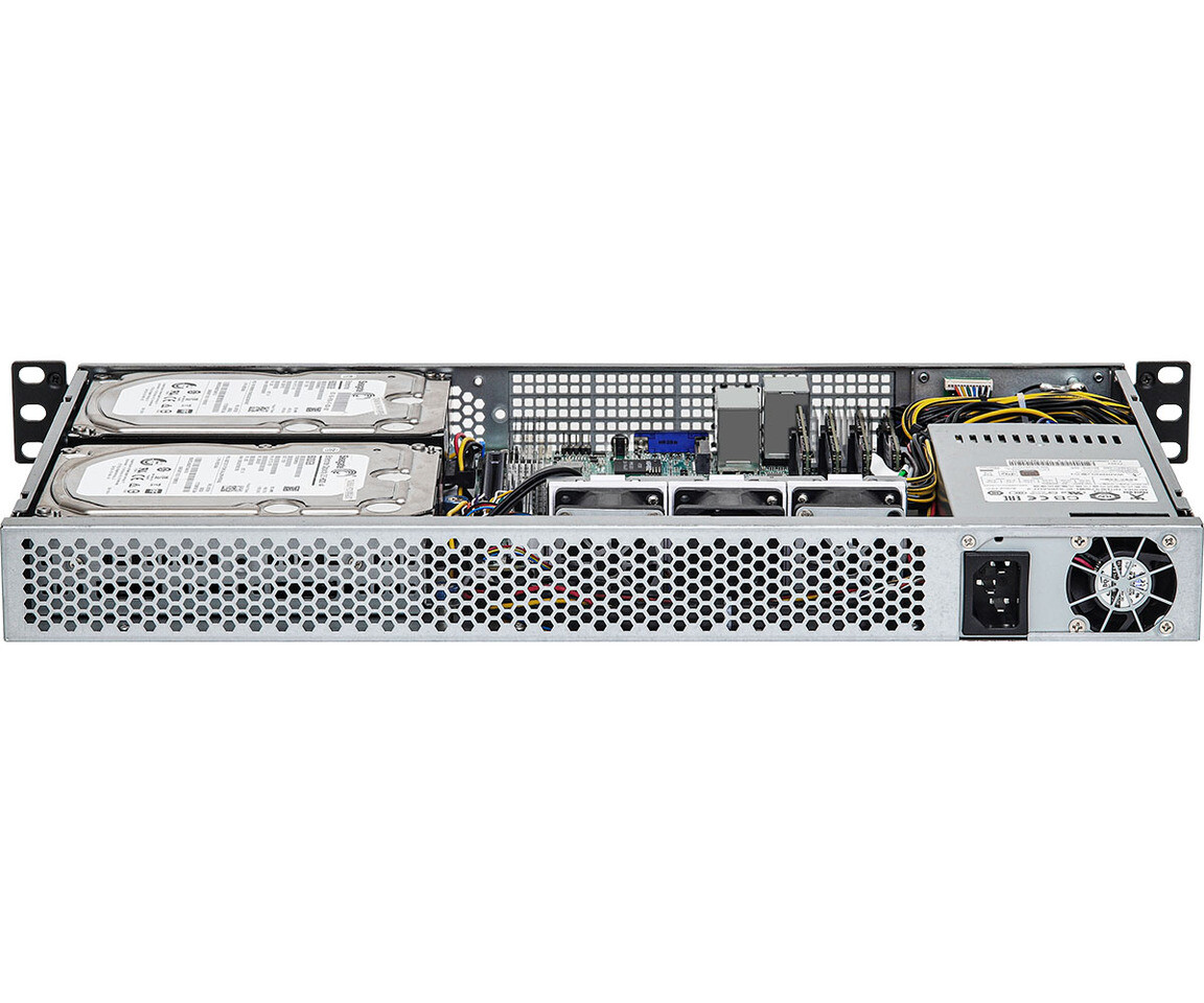 ASRock Rack Puts AMD Ryzen 5000 Series Processor in 1U Short Depth Server