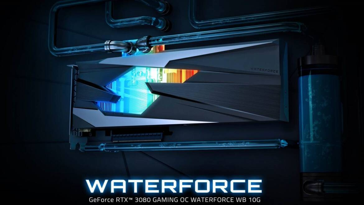 (PR) GIGABYTE Launches GeForce RTX 3080 GAMING OC WATERFORCE WB 10G graphics card