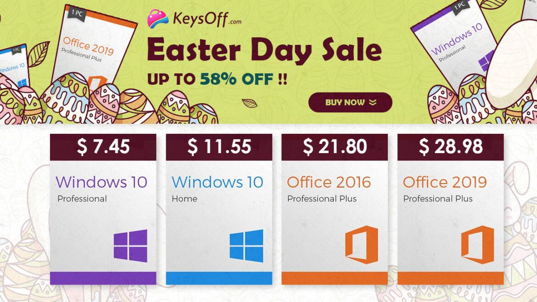 KeysOff Easter Sale: Lowest Prices Ever on Genuine Software