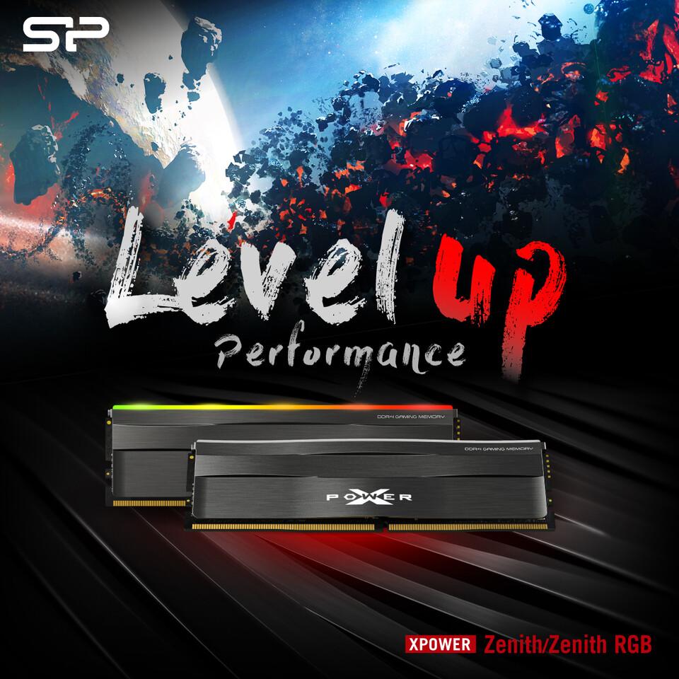 (PR) Silicon Power Announces XPOWER Zenith DDR4 Series