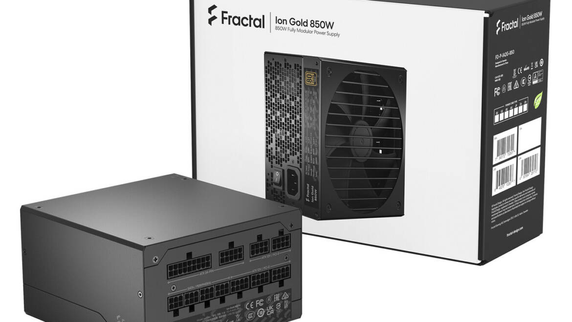 (PR) Fractal releases Ion Gold PSU Series