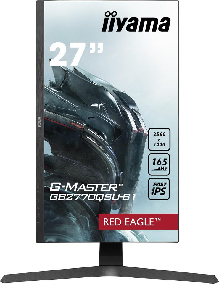 """(PR) iiyama Announces 27"""" WQHD 165 Hz IPS GB2770QSU Gaming Monitor"""