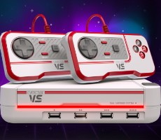 Evercade VS Console Launches For Retro Gaming Between Up To Four Friends