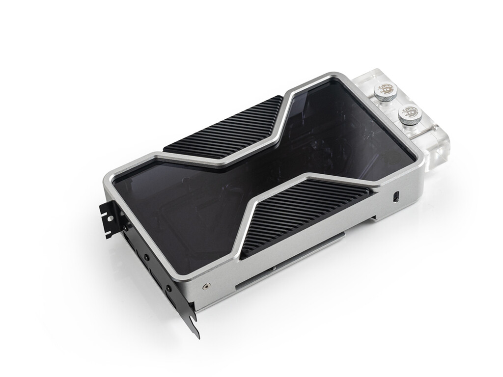 Bitspower Unveils Mobius RTX 3090 FE Water Block, and X-TEND Liquid-Cooled Backplate
