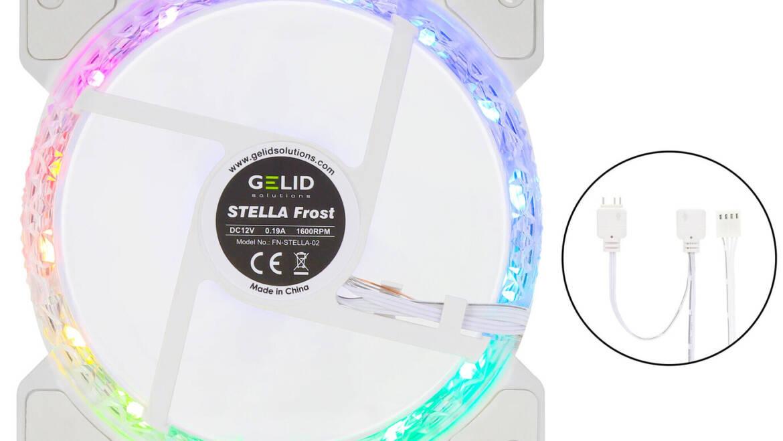 (PR) GELID Announces Stella Frost RGB 120 Fan