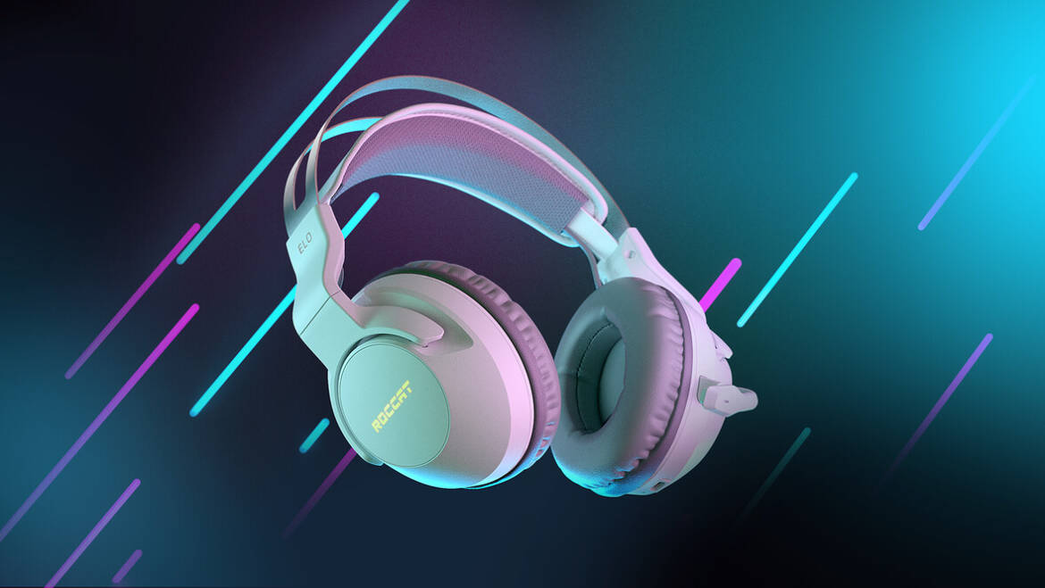 (PR) ROCCAT Launches New White Colorway of the Popular Elo 7.1 Air Wireless PC Gaming Headset