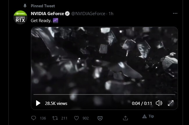 NVIDIA Officially Teases RTX 3080 Ti and RTX 3070 Ti