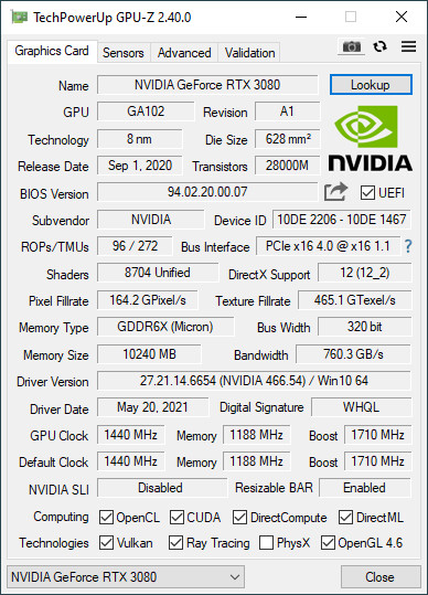 TechPowerUp GPU-Z v2.40.0 Released