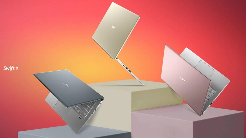 (PR) Acer Announces the Swift X Featuring NVIDIA GeForce RTX 30 Series Laptop GPUs