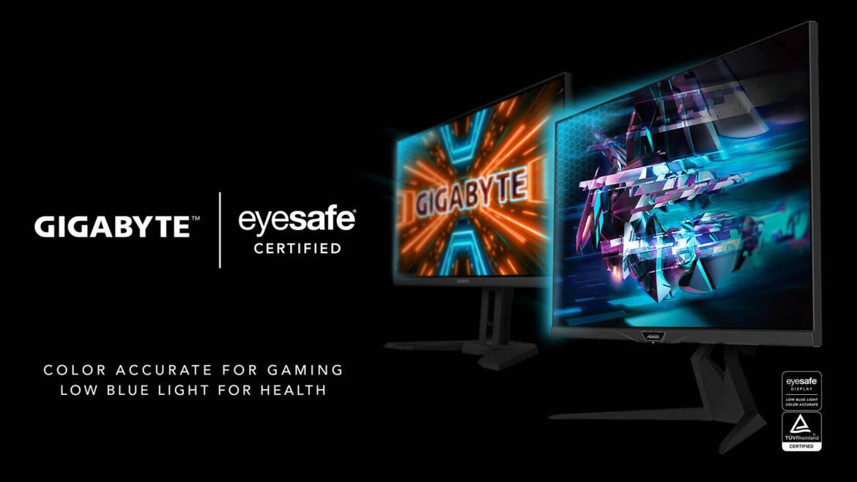(PR) GIGABYTE Introduces First Eyesafe Gaming Monitors