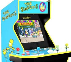 Arcade1Up Revives Simpsons Arcade Machine To Relive 1990s Gaming Without The Quarters
