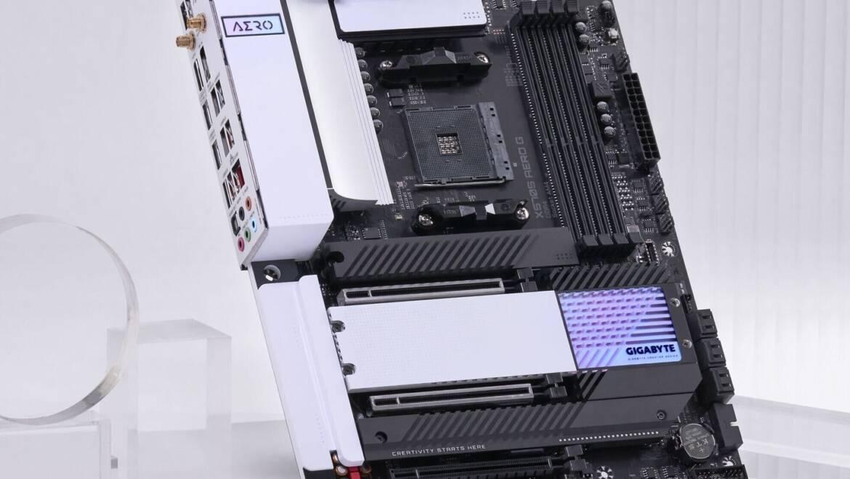 GIGABYTE Readies X570S AERO G Motherboard
