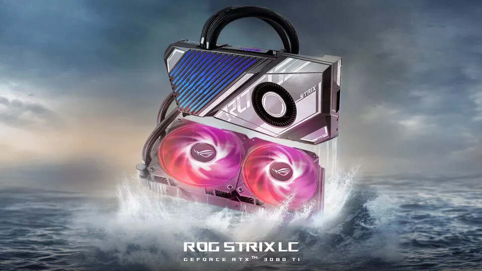 ASUS Introduces RTX 3080 Ti ROG Strix LC Hybrid-Cooled Graphics Cards