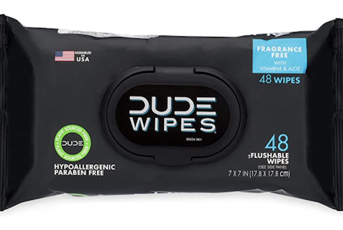 Amazon: Dude Wipes 48-Count Pack – Only $1.94