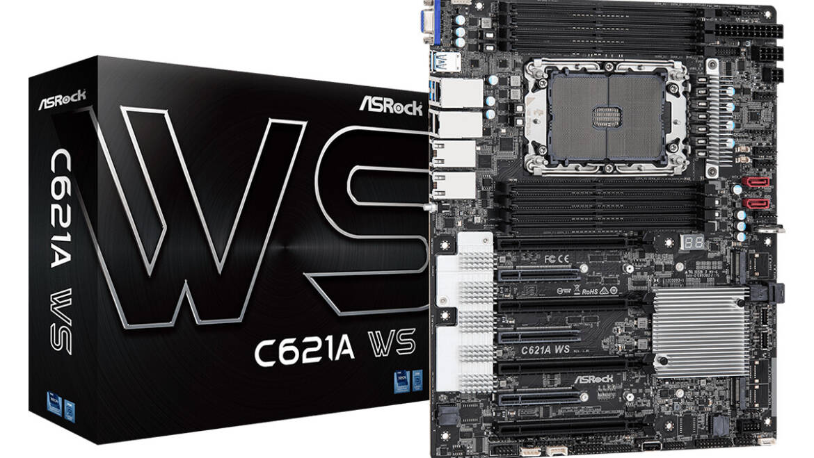 (PR) ASRock Launches C621A WS for Server and Workstation Application