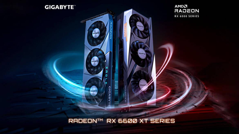 (PR) GIGABYTE Launches AMD Radeon RX 6600 XT Series Graphics Cards