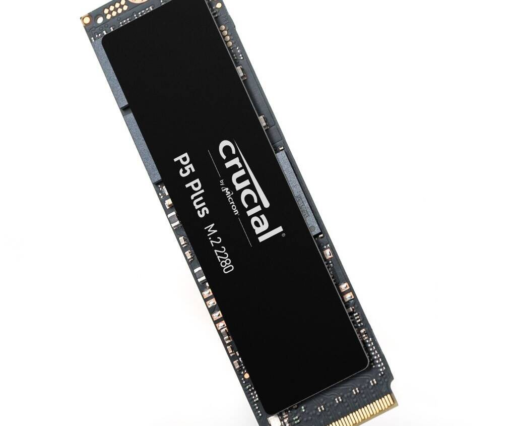 (PR) Crucial Announces P5 Plus M.2 NVMe Gen4 SSDs