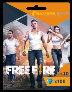 50% Off Garena Free Fire Diamond Cards