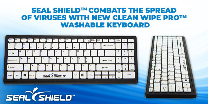 (PR) Seal Shield Unveils New Clean Wipe Pro Washable Keyboard