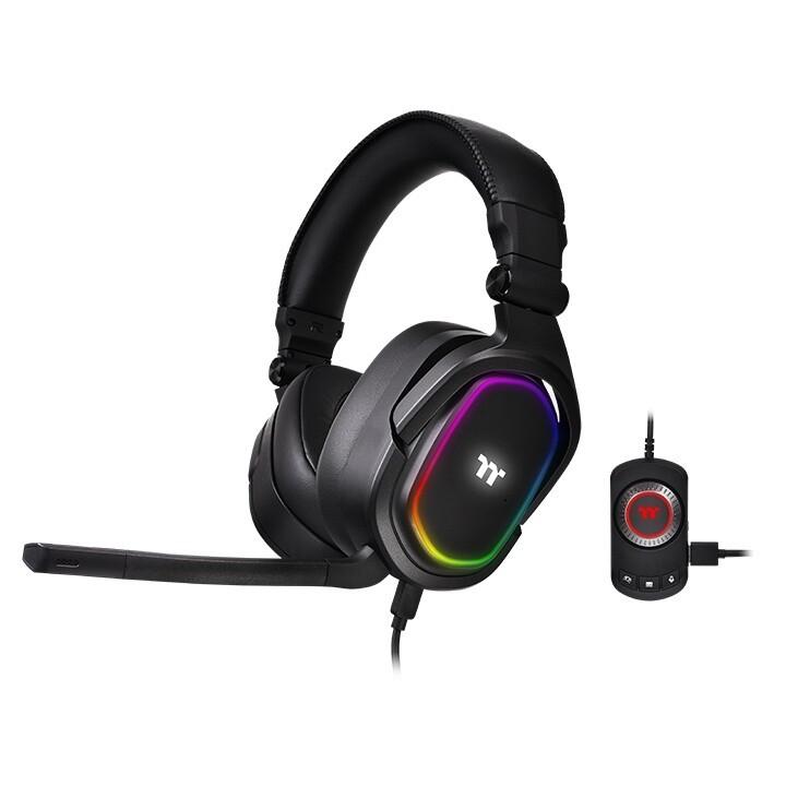 (PR) Thermaltake Announces ARGENT H5 RGB Gaming Headset