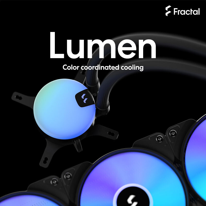 TechPowerUp and Fractal Design Lumen AIO Giveaway