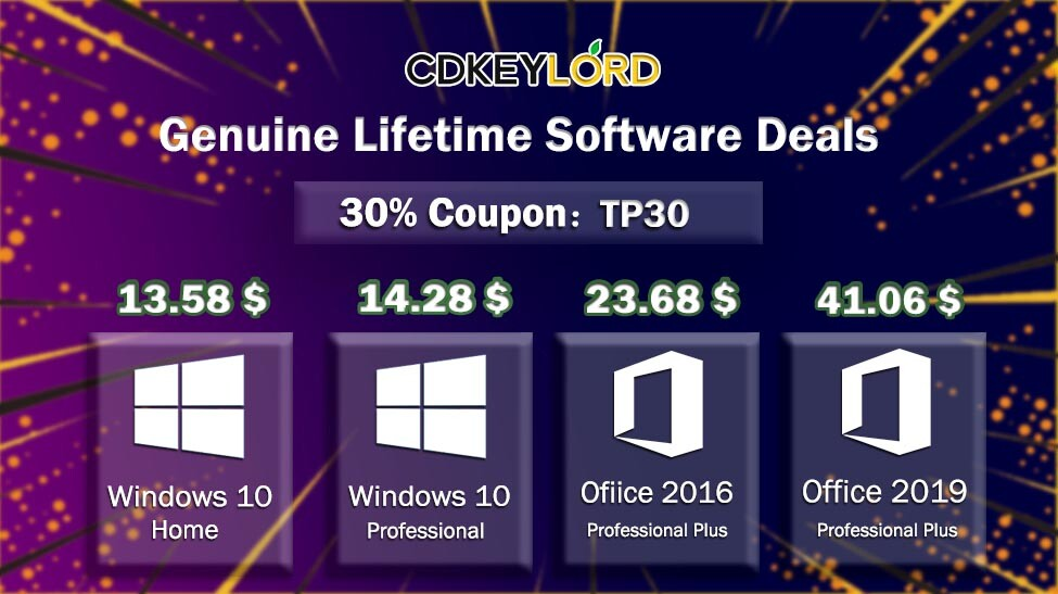 CDKeyLord Debuts with Blockbuster Deals on Genuine Software