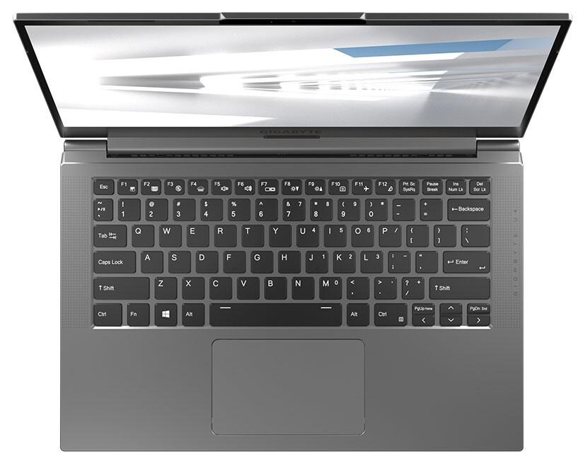 Gigabyte Unveils its New U4-series of Ultralight Notebooks